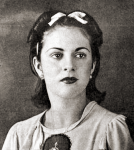Enid Braga tinha 18 anos e estudava no Lyceu Alagoano quando foi escolhida Miss Alagoas