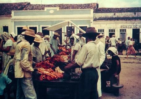 Feira de Anadia na década de 1950