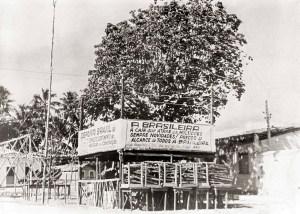 Palanque na Praça Pingo D´água em 1952