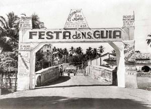 Festa de N. S. da Guia na Praça Pingo Dágua em 1954