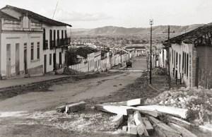 Rua Fernandes Lima em Anadia na década de 1950