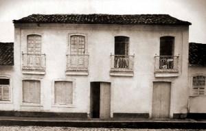 Casa do ouvidor na Vila de Maceió, na atual Praça Dom Pedro II