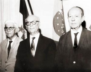 Comerciantes Arthur Bulhões, Enéas Ponte e Joaquim Leão