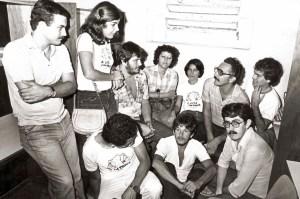 DCE do Cesmac em meados dos anos 80. Foto de José Feitosa