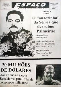 Jornal Espaço em junho de 1994