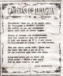 Poesia de Judas Isgorogota para O Bacurau