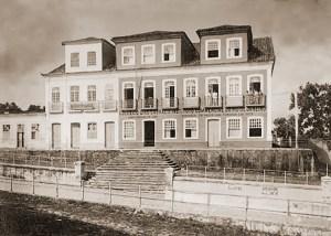 Palácio Velho onde funcionou o governo de Alagoas entre 1855 e 1902