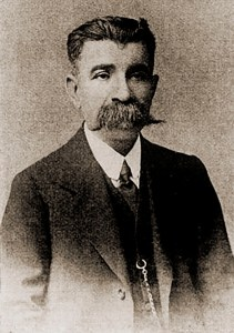 Misael Domingues. Foto: Almanak Henaut, 1912-1913