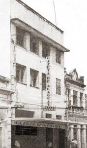 Prédio da Gazeta de Alagoas na Rua do Comércio