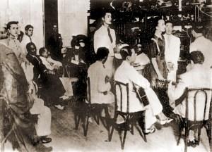 Sarau na casa de Rodrigues de Melo
