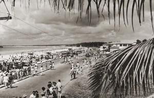 Av da Paz e Praia do Sobral em foto de Stuckert de 1959