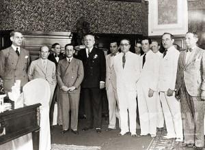 Posse de Osman Loureiro como Interventor de Alagoas, em 1934