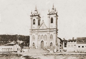 Igreja dos Martírios, em Maceió, no inicio do Século XX
