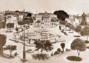 Praça Deodoro década de 1920