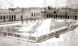 Espaço onde foi construído o Ginásio do Colégio Estadual de Alagoas, hoje ocupado pelo Restaurante Popular