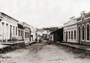 Rua em Viçosa em 1921