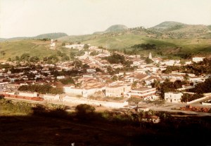 Vista parcial da cidade de Viçosa