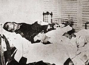 João Dantas e seu cunhado Augusto Moreira Caldas tiveram morte por secção da carótida