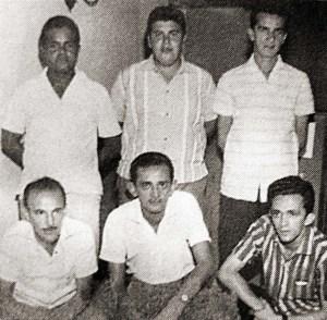 Francisco Magalhães, Jader Cabral, Vagner Novaes, Lauthenay Perdigão, Jorge Vilar e Sabino Romariz, estrelas do Rádio alagoano