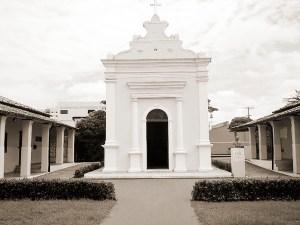 Capela da Enfermaria Militar concluída em 8 de dezembro de 1876