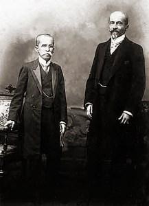 A Chapa Rui Barbosa/Albuquerque Lins em 1910