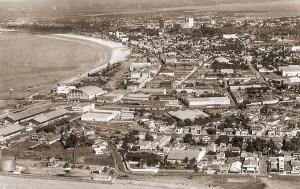 Vista de Jaraguá e início da Pajuçara nos anos 70