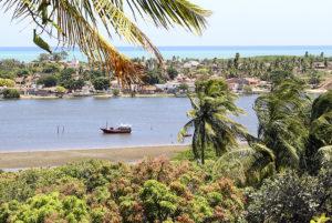 Ilha da Croa na Barra de Santo Antônio