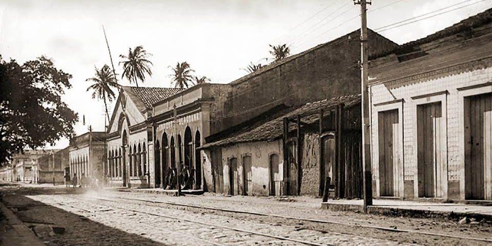 Fundição Alagoana na Rua do Saraiva em Jaraguá, Maceió
