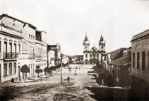 Rua Floriano Peixoto em 1922