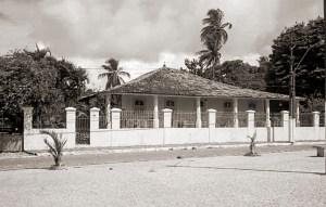 Solar Nunes Leite na Praça Lucena Maranhão em Bebedouro, onde morou o comendador Jacintho Leite