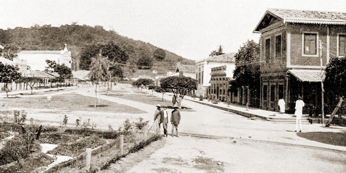 Aspecto da Vila Operária em Fernão Velho no ano de 1922
