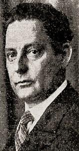 Adalberto Marroquim em foto publicada no Diário da Noite, RJ, em 1º de maio de 1930