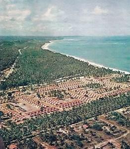Conjunto da Cohab em Cruz das Almas logo após a sua inauguração em 1967
