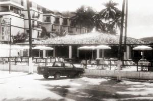 Restaurante Bem já com o Hotel Matsubara construído ao seu lado