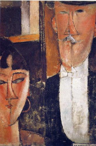 Los prometidos de Modigliani