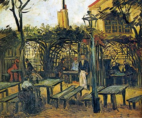 El merendero de Vincent Van Gogh
