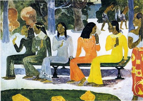 Ta matete de Paul Gauguin