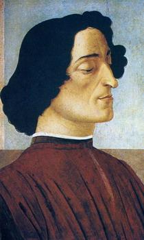 Retrato de Juliano de Medias de Sandro Botticelli