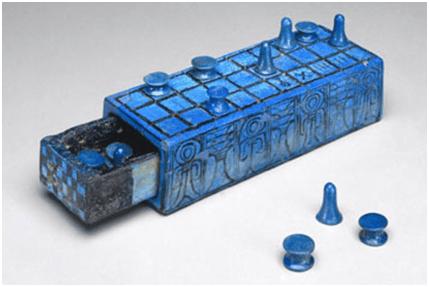 Senet conservado en perfectas condiciones de Amenhotep III, mejor ejemplo del ocio en el antiguo Egipto