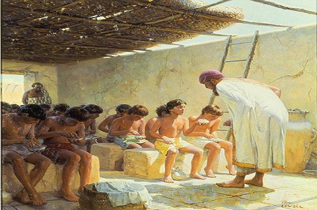 Resultado de imagen de NIÑOS ESCUELA MESOPOTAMIA