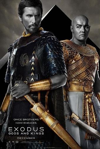 """Cartel promocional de la película """"Exodus: dioses y reyes"""""""