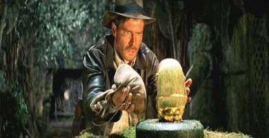 Una de las míticas escenas de Indiana Jones en busca del arca perdida