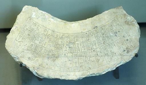 Inscripción datada del reinado de Naram Sin, muestra del arte acadio
