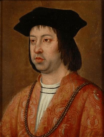 Retrato de Fernando el Católico por Michel Sittow (hacia 1469-1525)