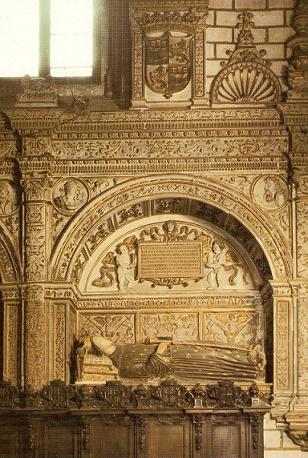 Sepulcro de Enrique III de Castilla, rey durante el pogromo de 1391