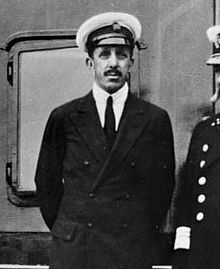 Fotografía del rey Alfonso XIII en 1930