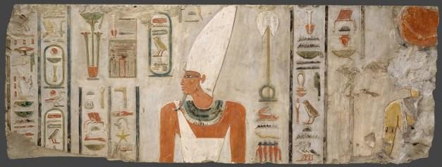 Mentuhotep II en uno de los relieves de Deir el Bahari