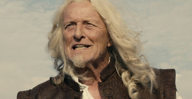 Rutger Hauer caracterizado como su personaje en la película