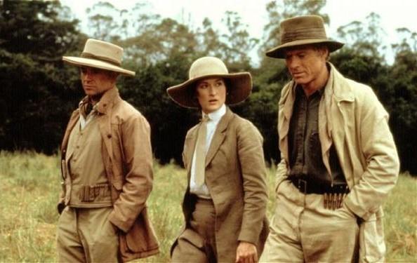 Fotograma de la película en la que se ve a Meryl Streep y a Robert Redford