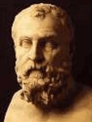 Busto atribuido al tirano Cilón de Atenas